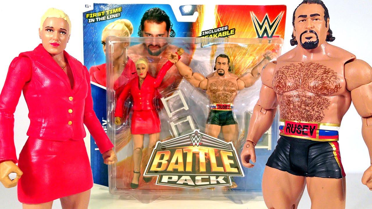 WWE Basic Rusev Figure
