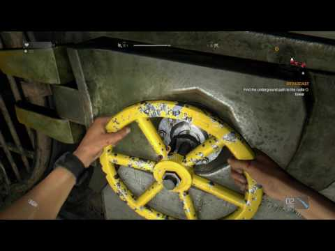Dying Light  Access Sewers to Antenna