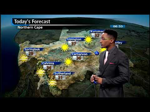 SA #Weather report   13 March 2018