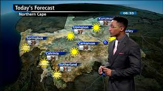 SA #Weather report | 13 March 2018