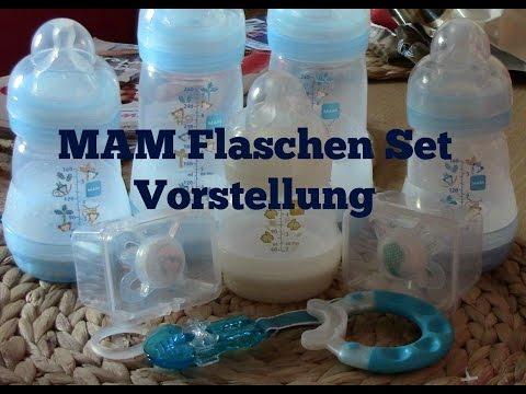 MAM Anti-Colic Zubehör-Set Flaschen Verschlussplättchen Bodenventile Babyflasche