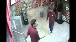 Surveillance footage shows assault at Crown Fried Chicken in Lindenwold