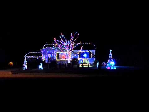 National Lampoon's Christmas Vacation light show