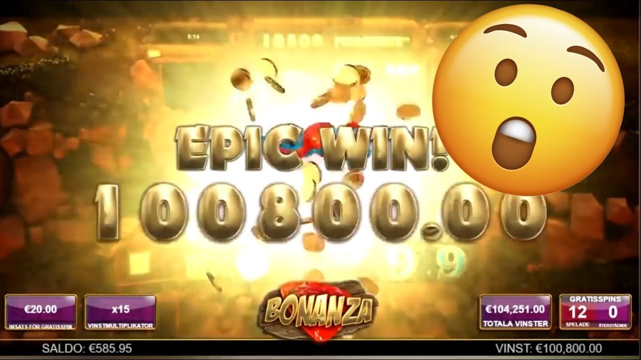 Big Wins On Bonanza Slot One Of The Best Online Slot Youtube
