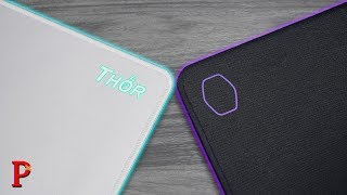 X-Ray Thor Mouse Pad vs Coolermaster MP510!