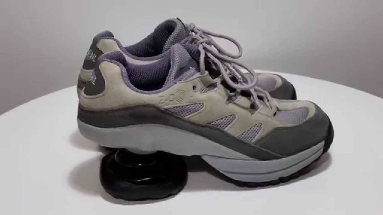 z coil gray leather suede s shoes athletic
