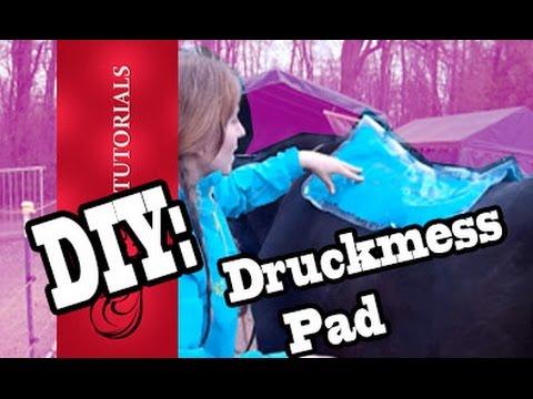 Tutorial: DruckmessPad Carola Pad Impression Pad DIY !  // Reitertutorials