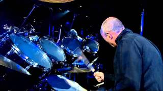 Phil Collins, Solo batterie live à Bercy. HD