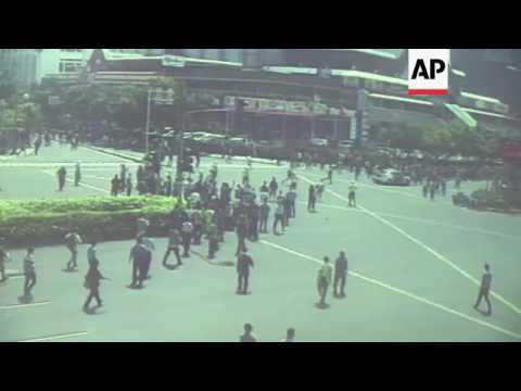 New footage released of Jakarta attack