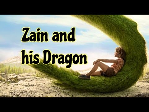 Zain and his Dragon save The Lost World - Children's Bedtime Story