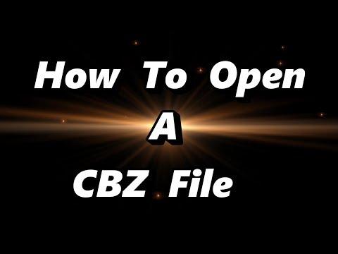 Как открыть файл cbz на компьютере
