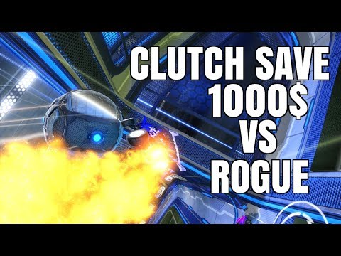 INSANE CLUTCH SAVE AGAINST ROGUE IN 1000$ TOURNEY