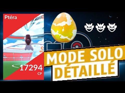 Pokemon go soloter pt ra au niveau 30 youtube - Pokemon ptera ...
