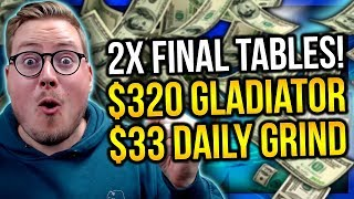DOUBLE FINAL TABLE HYPE!! PokerStaples Stream Highlights