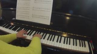 The Teeter-totter by Dale Reubart  |  RCM piano repertoire preparatory level A Celebration Series