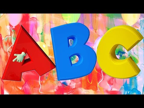 ABC Song  - Learn Alphabets for Toddlers - How to Teach Alphabets to Preschoolers In A Fun Way