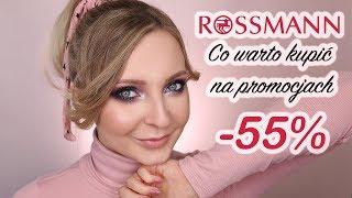 Co kupić na promocji -55% w Rossmannie? Kwiecień 2019