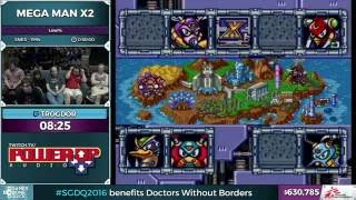 Mega Man X2 by Trogdor in 37:33 - SGDQ 2016 - Part 155