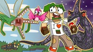ч.35 НАБЛЮДАТЕЛИ И НОЧНЫЕ КОШМАРЫ!! - Minecraft Страшные приключения