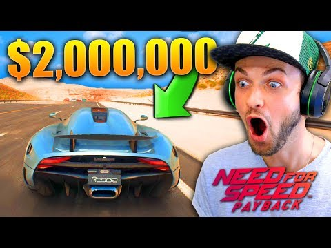 Thumbnail: I STOLE A $2,000,000 CAR...! - Need for Speed: Payback EARLY Gameplay!