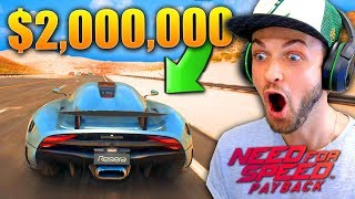 I STOLE A $2,000,000 CAR...! - Need for Speed: Payback EARLY Gameplay!