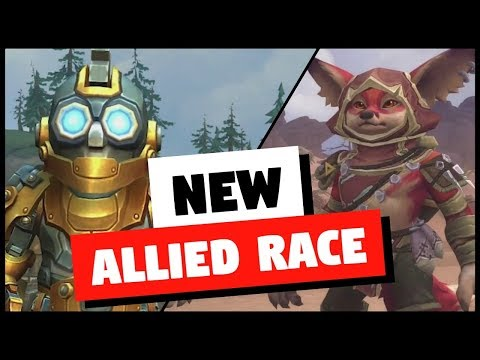 NEW Allied Races - Vulpera and Mechagnome Coming in WoW Patch 8 3 | World  of Warcraft
