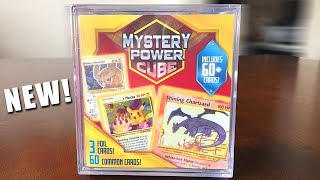 NEW POKEMON MYSTERY POWER CUBES AT WALMART! *Opening*