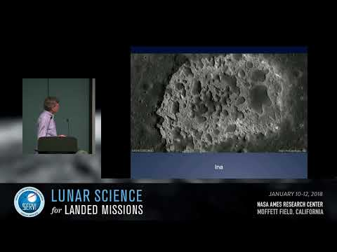 Lunar Magmatism and Volcanic Deposits #3: Unusual Volcanism Session Chair: Lisa Gaddis