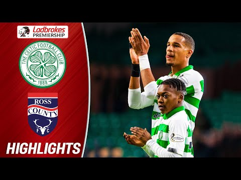 Celtic 3-0 Ross County | Dembele Comes On As Celtic Ease To Victory! | Ladbrokes Premiership