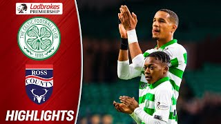 Celtic 3-0 Ross County | Odsonne Edouard Scores Brace as Dembele Features! | Ladbrokes Premiership