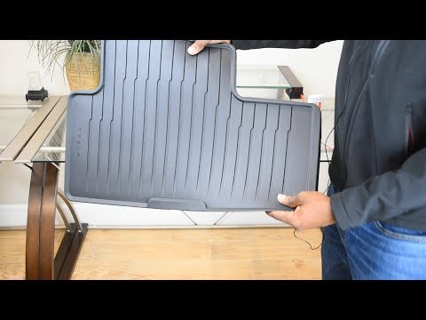 Tesla Model 3 All Weather Interior Mats Unboxing Review #tesla #model3 #teslamodel3