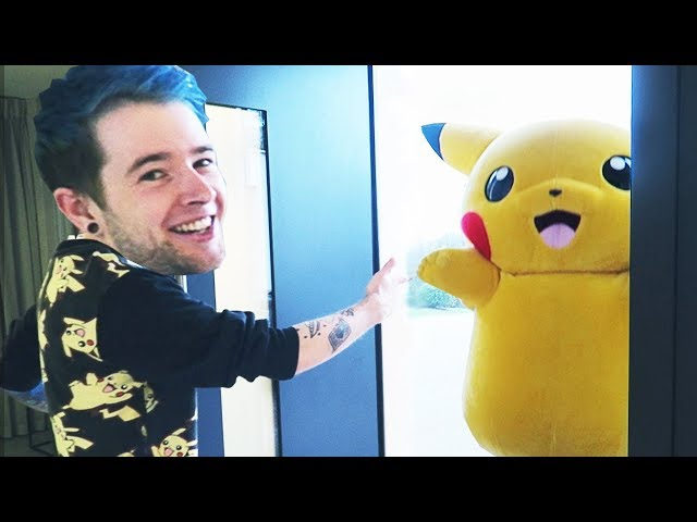 Pikachu came to MY HOUSE!!