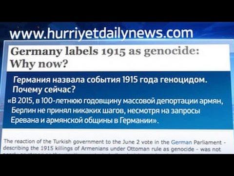 СМИ положительно отреагировали на решение Бундестага о признании геноцида армян