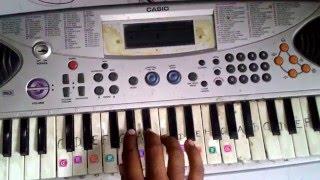 "Idhu Enna Maayam ""A Walk to Remember Theme"" on keyboard"