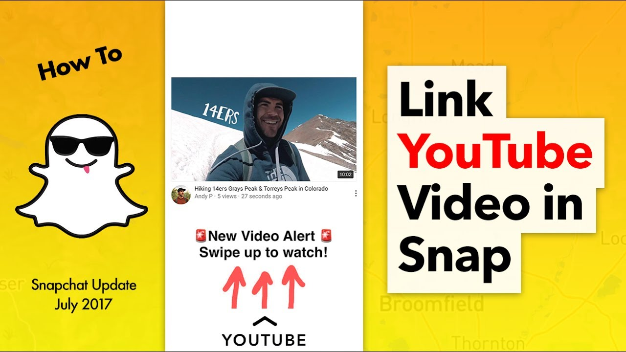 How To Link A Youtube Video To Snapchat Youtube