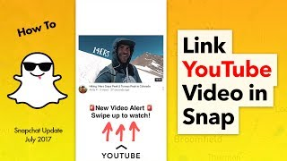 How to Link a YouTube Video to Snapchat