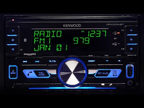 Kenwood DPX303MBT Digital Media Receiver - Pre-amp, Output Power and Frequency Response Testing