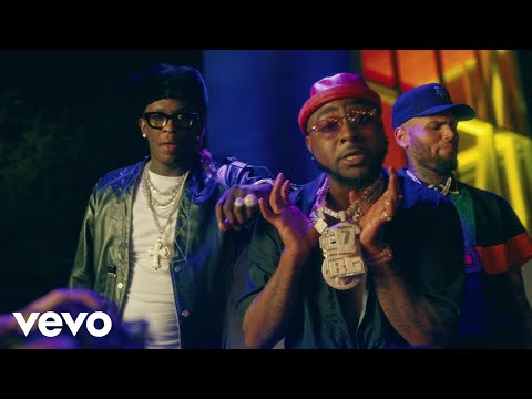 Смотреть клип Davido Ft. Chris Brown, Young Thug - Shopping Spree
