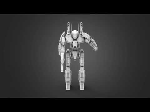 MWO Phoenix Hawk 3D Printing Miniature | Assembling Tutorial by Gambody