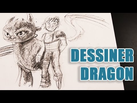 Apprendre dessiner dragon du dessin anim how train - Dessin facile de dragon ...