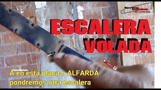 ENTREGA DE ESCALERA DE PLACA PESADA