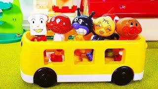 アンパンマン おもちゃ 体が入れ替わる!!❤ みんなのお顔と体をなおしてあげよう アンパンマンおもちゃアニメ animation Anpanman Toy