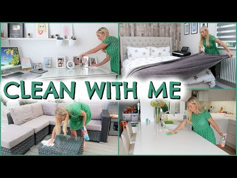 POWER HOUR SPEED CLEAN  |  DAILY CLEAN WITH ME ROUTINE  |  10 MINUTE TIDY UP METHOD | EMILY NIORRIS