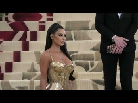 Kim Kardashian at Met Gala 2018