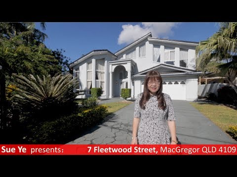 SOLD by Sue Ye - 7 Fleetwood St, MacGregor QLD 4109