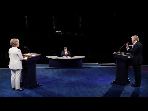 REPLAY - Watch the 3rd US presidential debate between Trump and Clinton