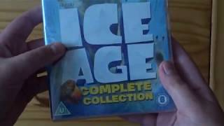 Ice Age: The Complete Collection (UK) DVD Unboxing