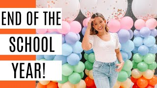 End of The School Year! +Update