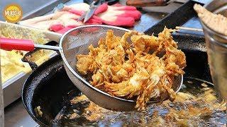 남대문시장 │ 베이비 크랩 튀김 │ Deep-fried Baby Crabs │ 한국 길거리 음식 │ Korean Street Food