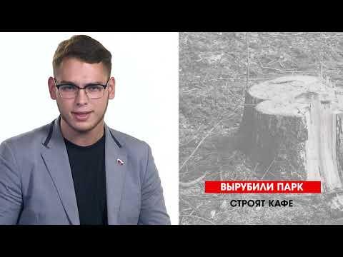 НТС Севастополь: Севастопольская неделя: Вырубка парка и «недоступная среда»